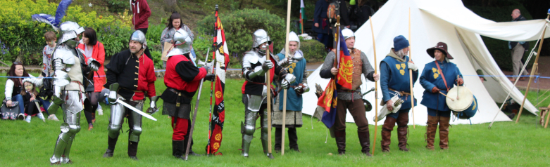 The Battle of Shrewsbury Reenacted by Mike Curtis